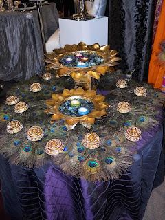 Hawaiian Island Wedding Planners Peacock Wedding Theme