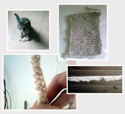 tricot echarpe