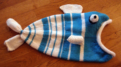fish hat pattern