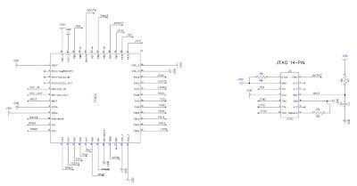 Todds Spot: STM32 w/ 14pin JTAG RLINK connector