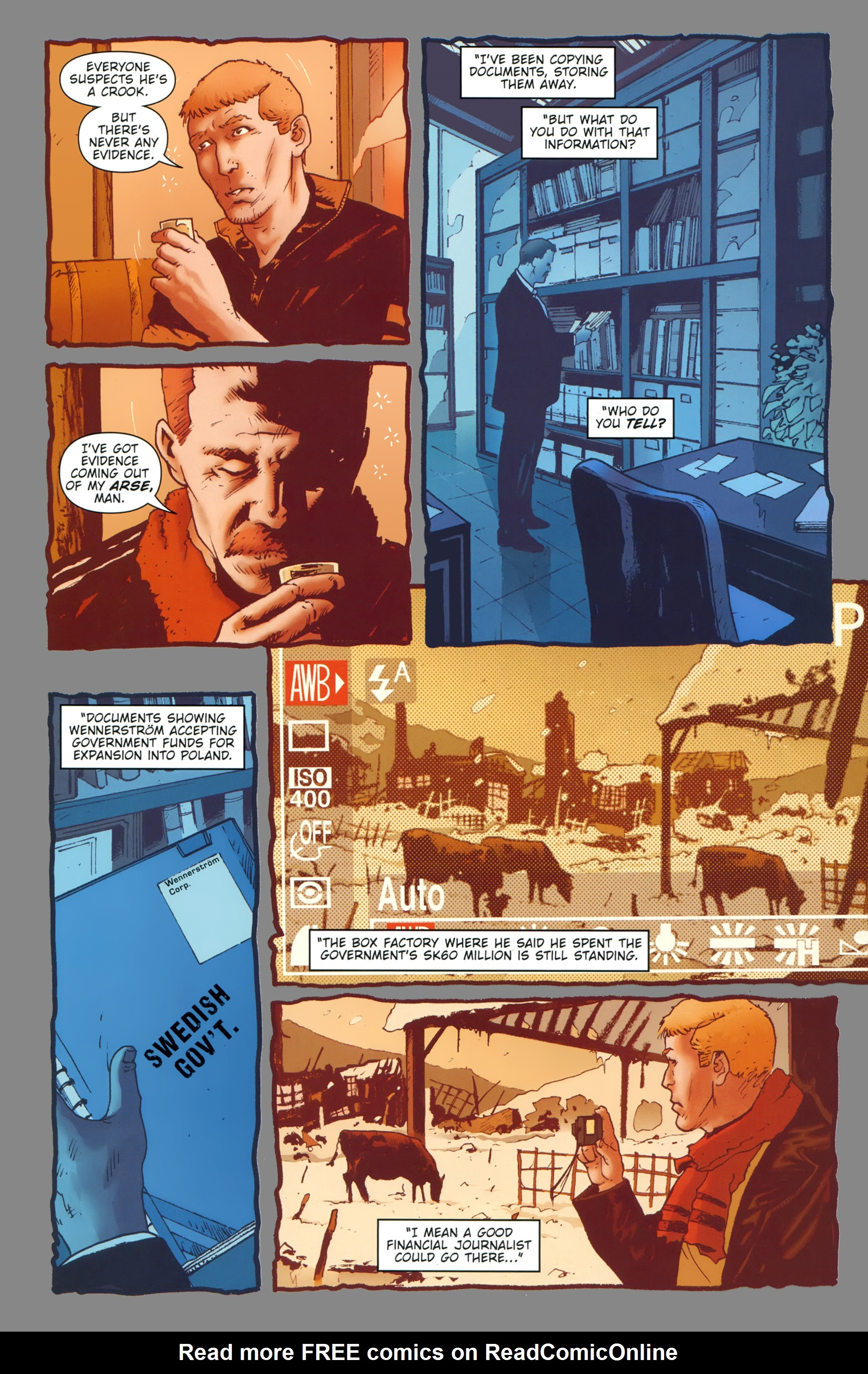 Read online The Girl With the Dragon Tattoo comic -  Issue # TPB 1 - 18
