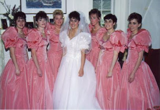 Bad Taste Bridesmaid Dress