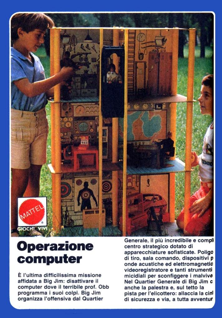 Elicottero Big Jim Anni 80 : Le pubblicità fuorvianti di topolino parte vi sett