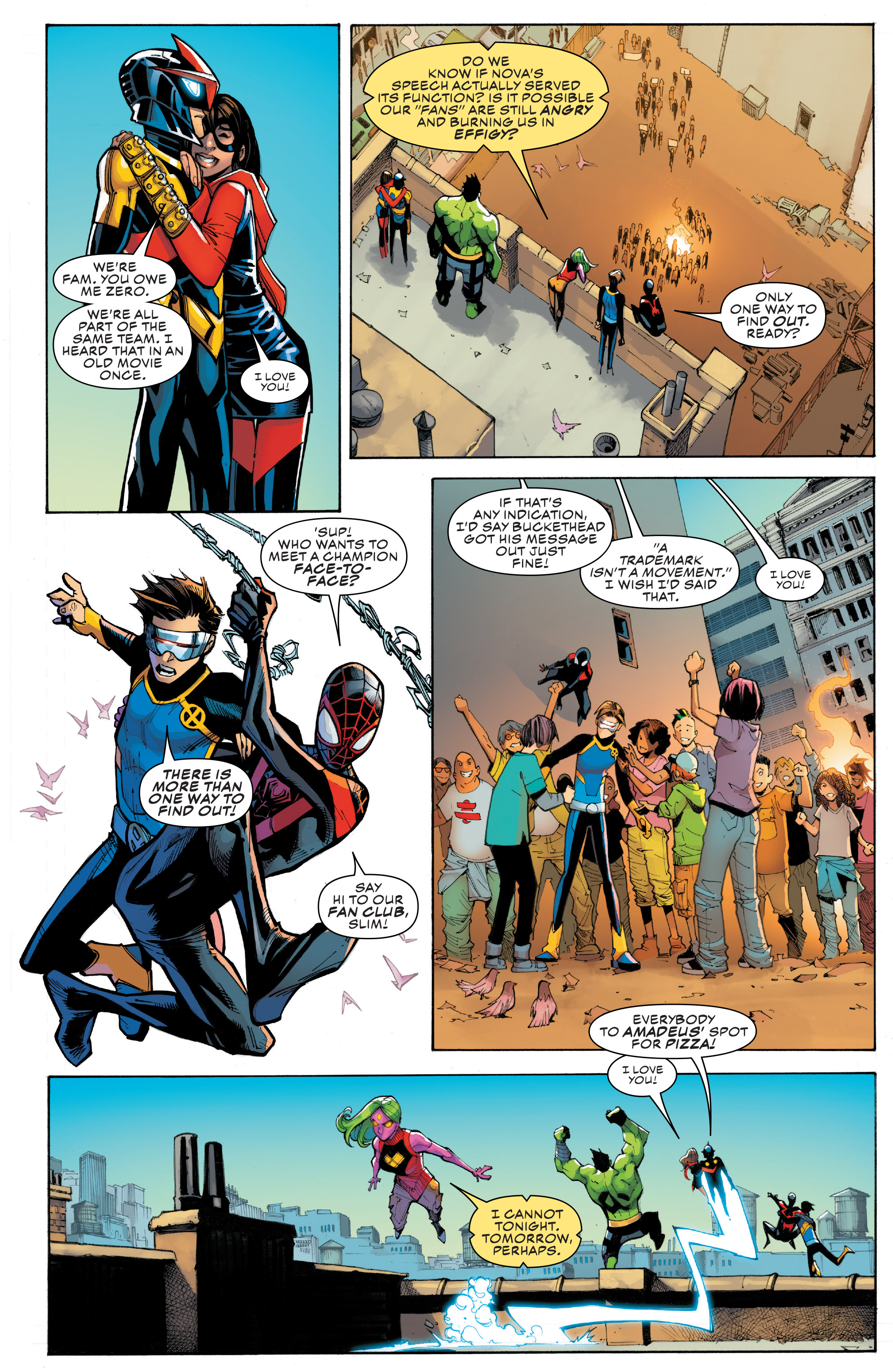 Read online Champions (2016) comic -  Issue #8 - 21