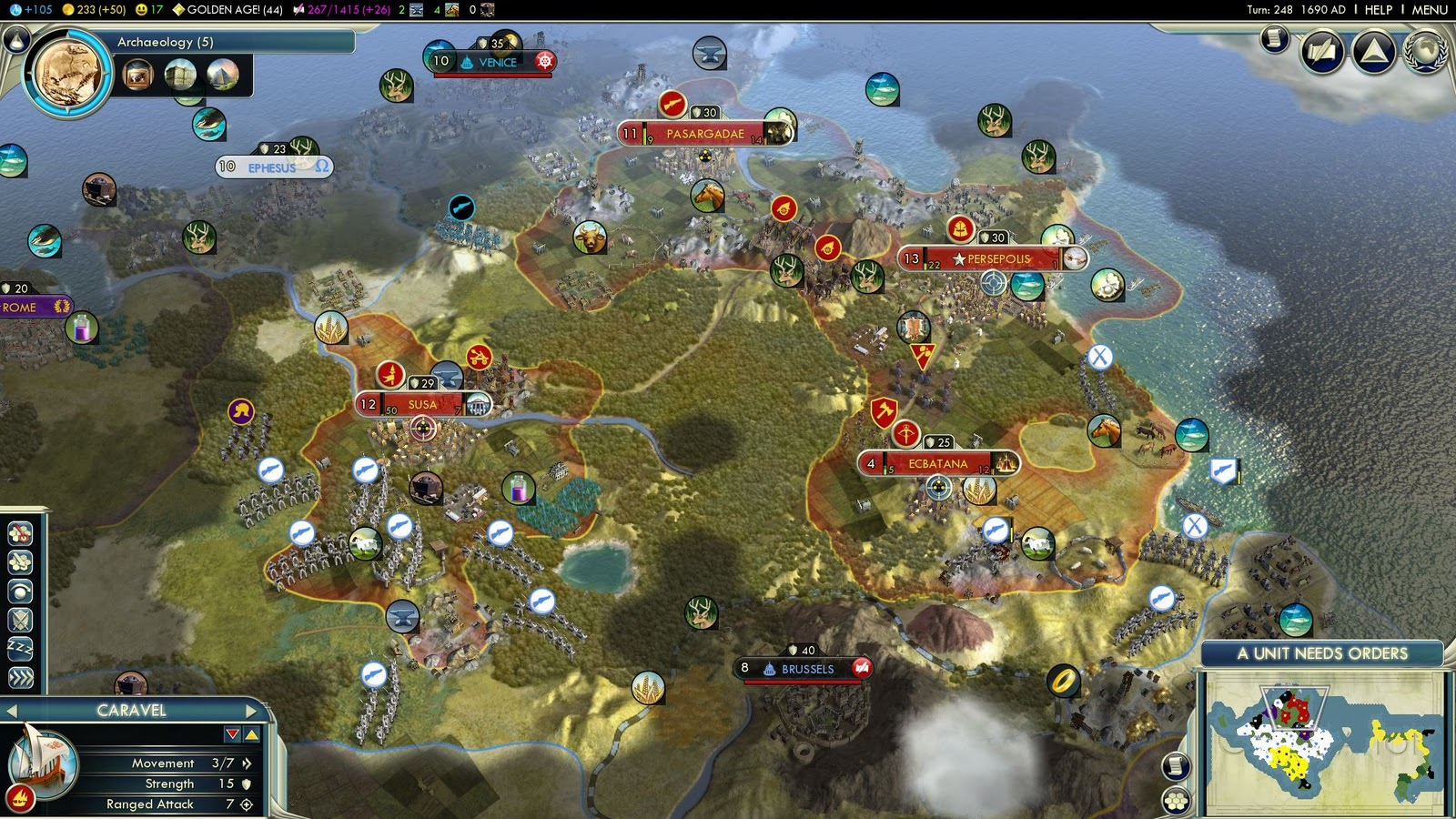 Civ 5 Crossbowman – Quotes of the Day