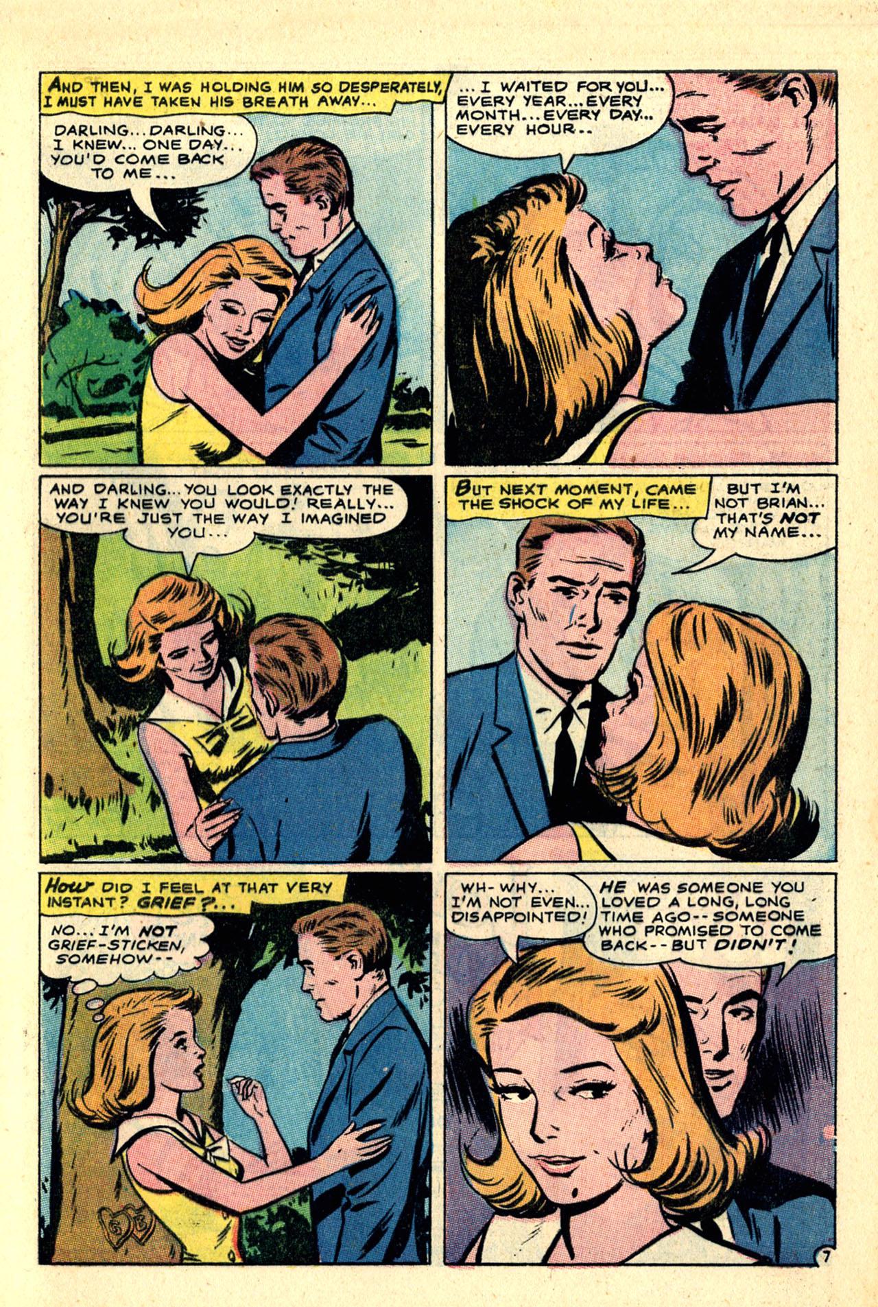 Read online Secret Hearts comic -  Issue #121 - 9