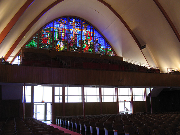 gallery, Liberty Baptist Church, Chicago