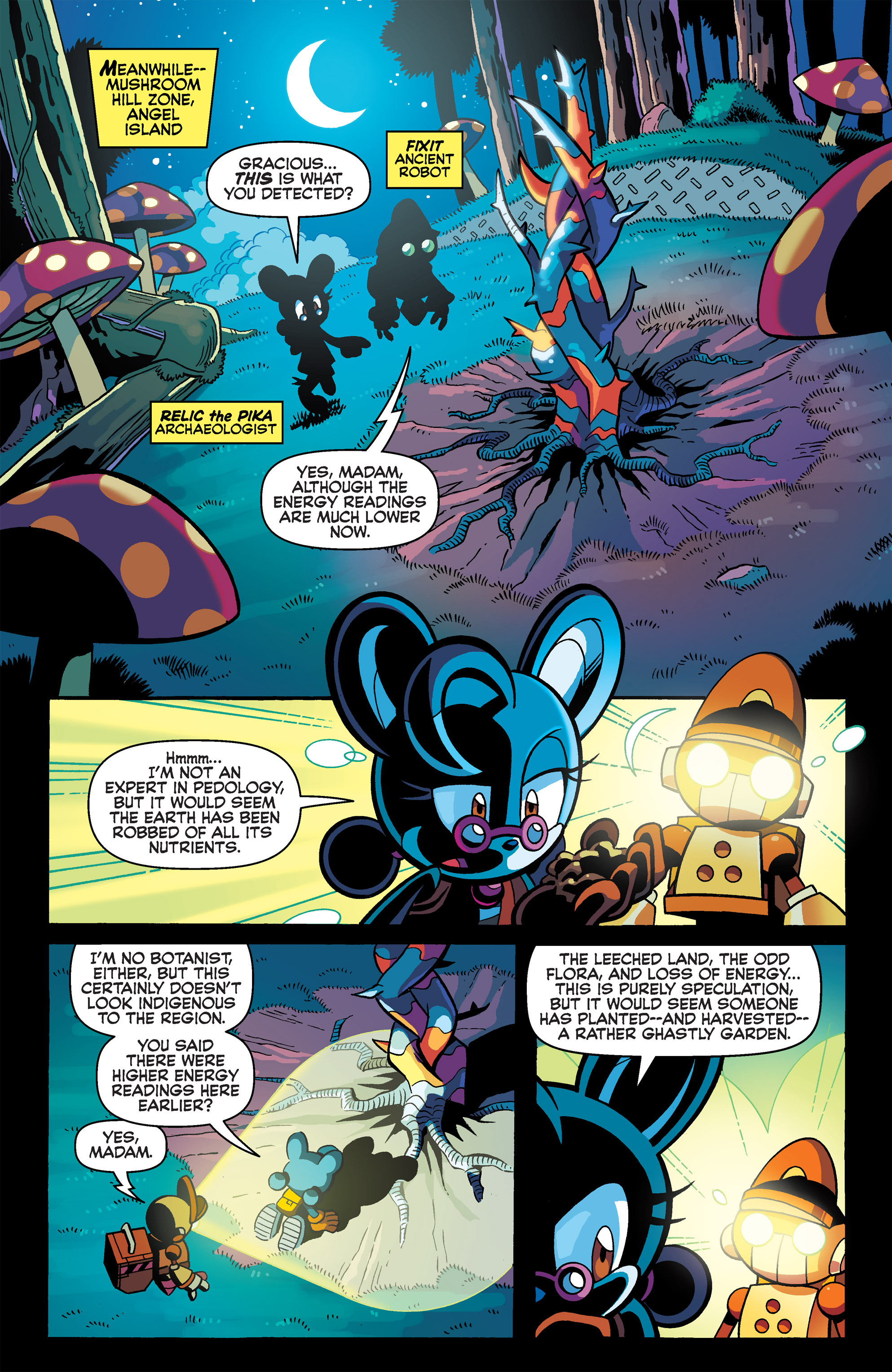 Read online Sonic Universe comic -  Issue #65 - 11