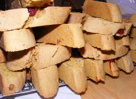 Stacked Caramel Shortbread Birthday Cake