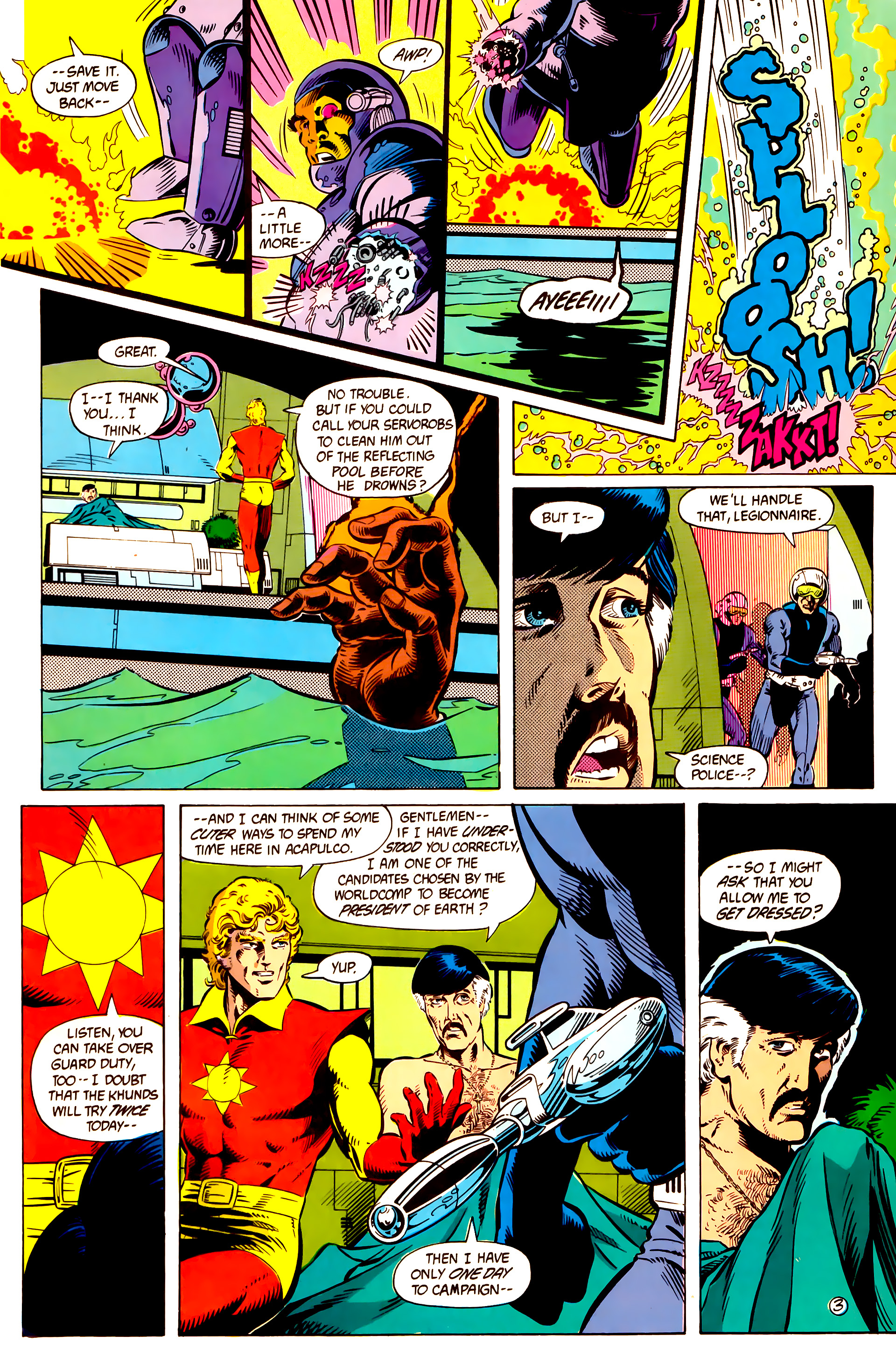 Legion of Super-Heroes (1984) 10 Page 4