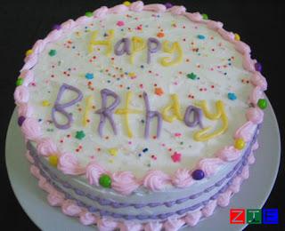 My Day Minimalist Birthday Cake