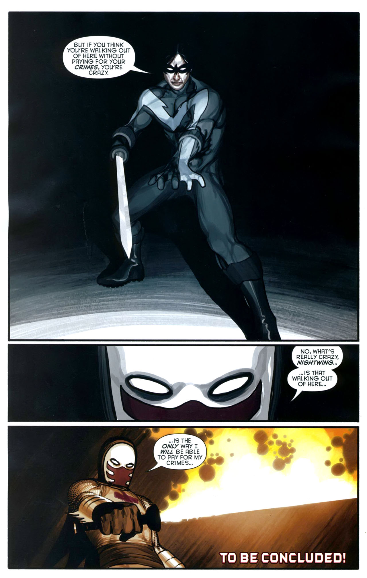 Read online Azrael: Death's Dark Knight comic -  Issue #2 - 26
