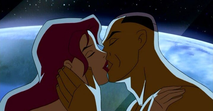 Image result for hawkgirl and green lantern kiss
