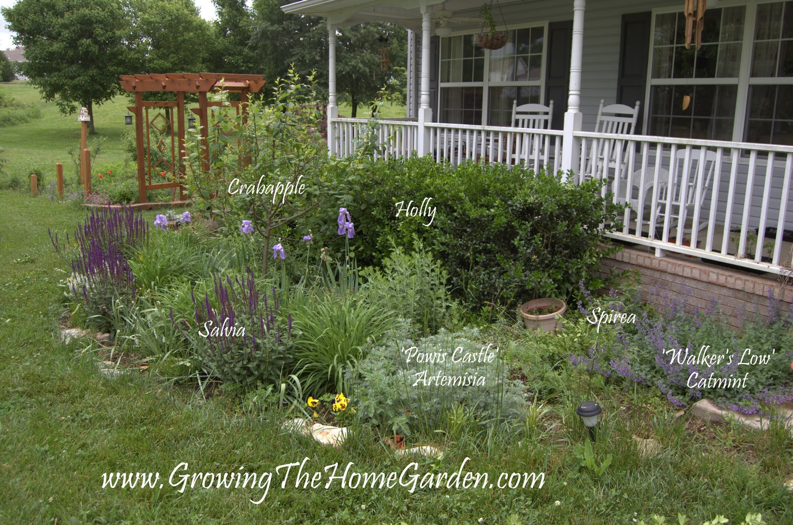 My Front Porch Garden Design Project Part 1 Growing The Home Garden