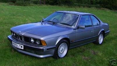 BMW CARS: BMW E24 6 Series