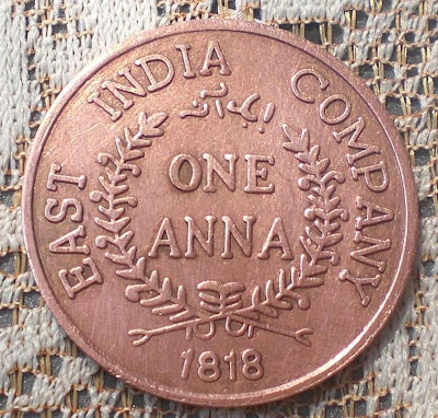 one anna 1818 east india