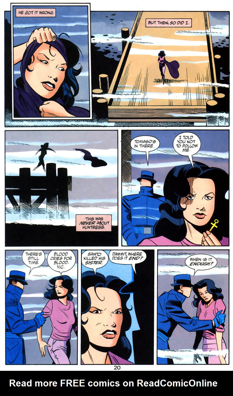 Read online Batman/Huntress: Cry for Blood comic -  Issue #6 - 20
