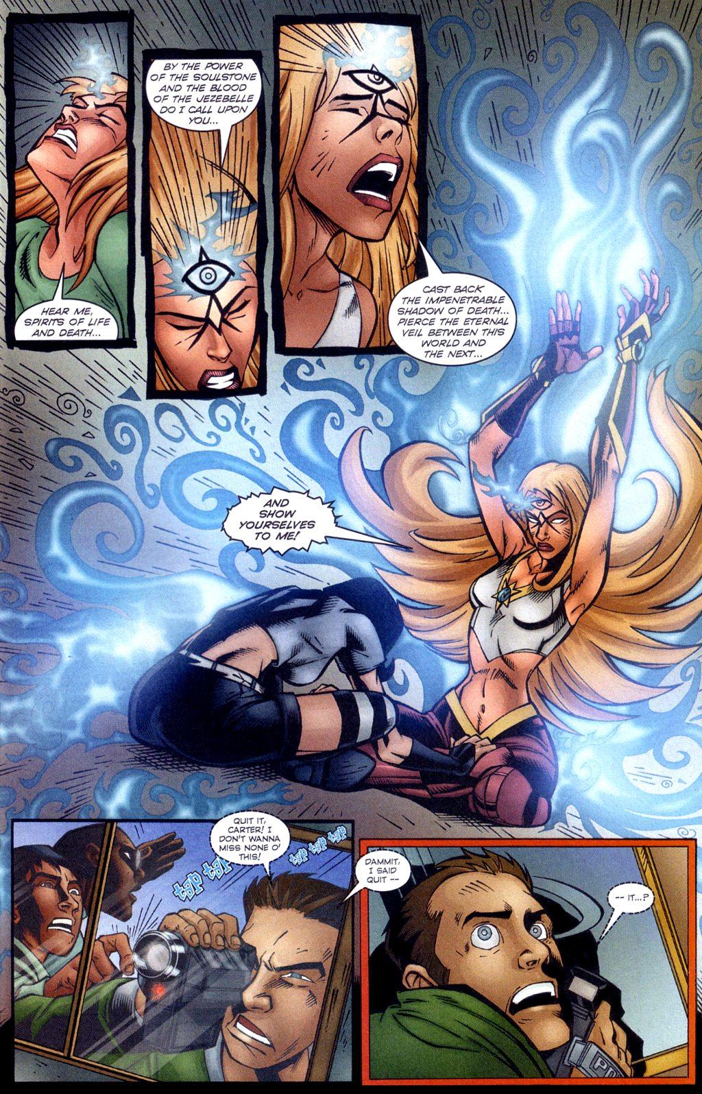 Read online Jezebelle comic -  Issue #4 - 17