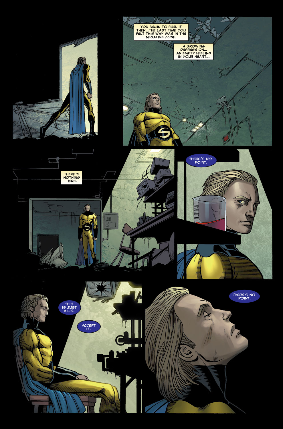 Read online Sentry (2006) comic -  Issue #6 - 22