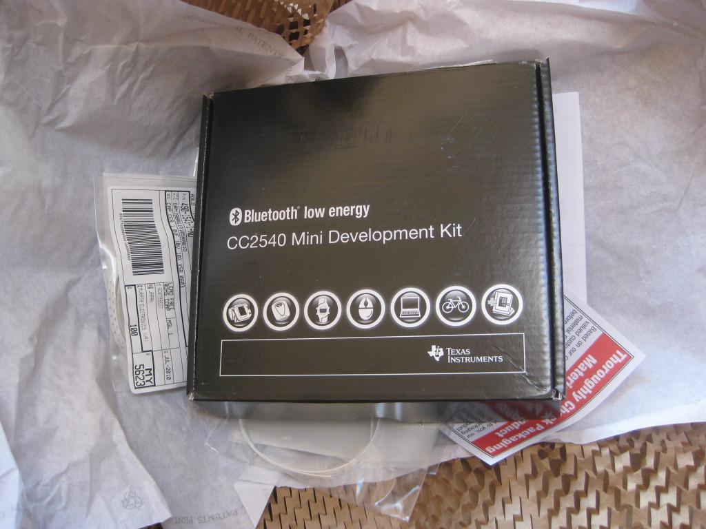 mossmann's blog: first Bluetooth Low Energy packets