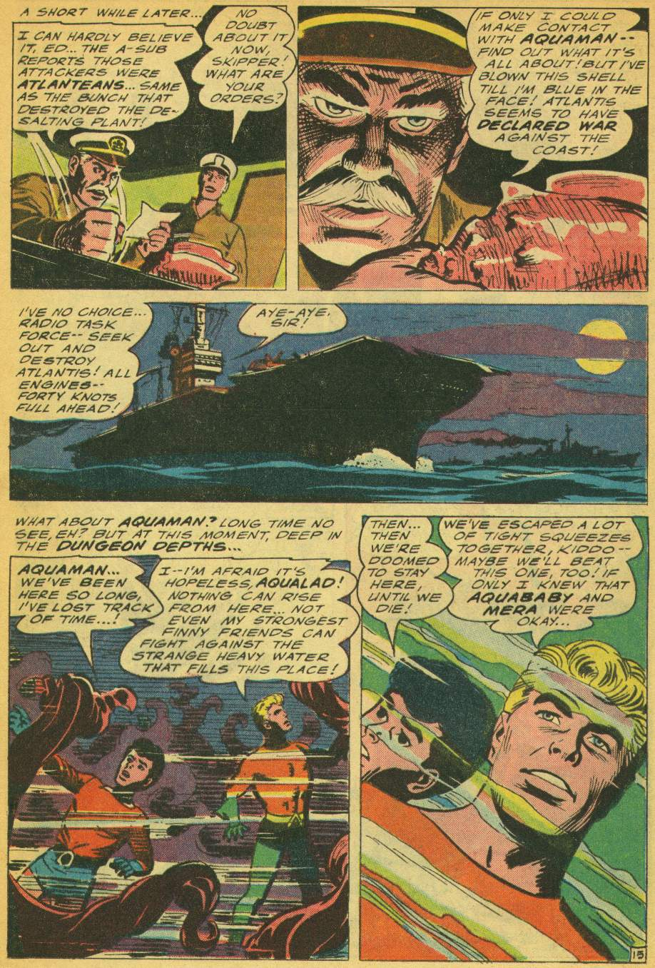 Read online Aquaman (1962) comic -  Issue #28 - 20