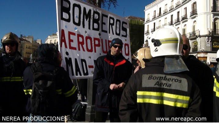Huelga de Bomberos Aena