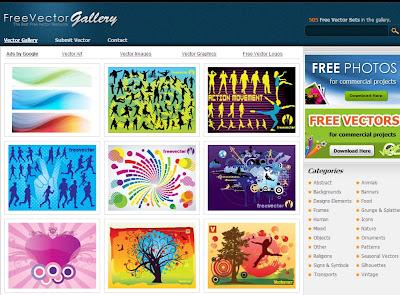 Free Vectors Gallery vetores corel