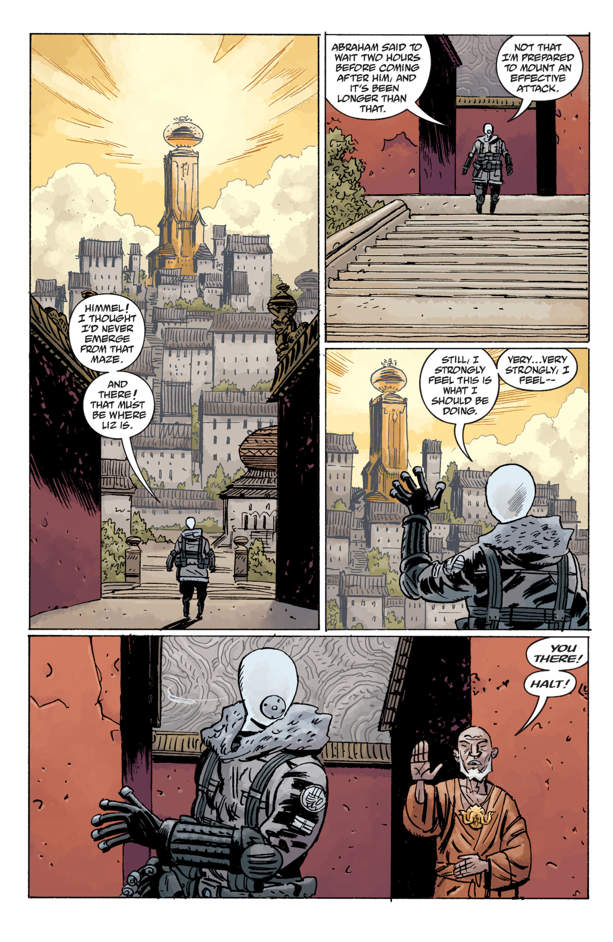 Read online B.P.R.D. (2003) comic -  Issue # TPB 11 - 92