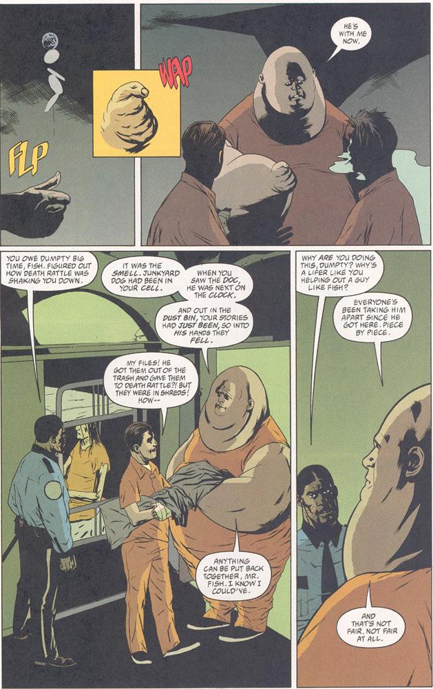 Read online Arkham Asylum: Living Hell comic -  Issue #2 - 21