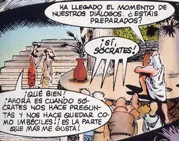 Resultado de imagen de Sócrates humor