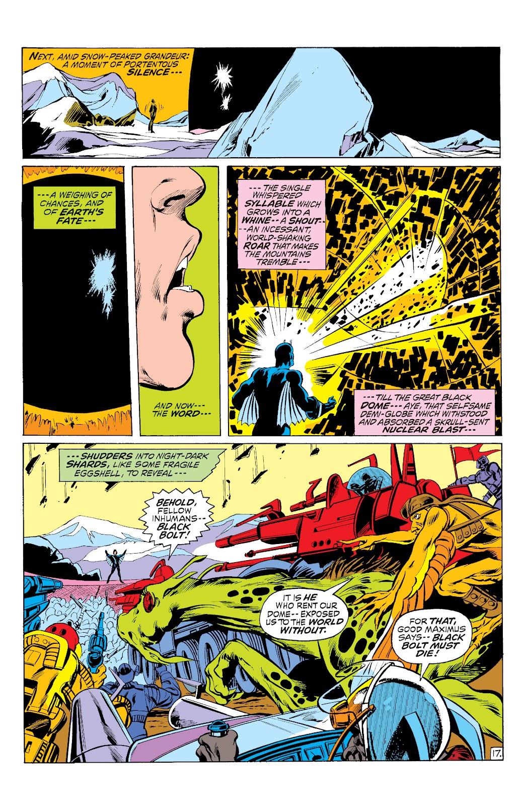 Read online Marvel Masterworks: The Inhumans comic -  Issue # TPB 1 (Part 3) - 12