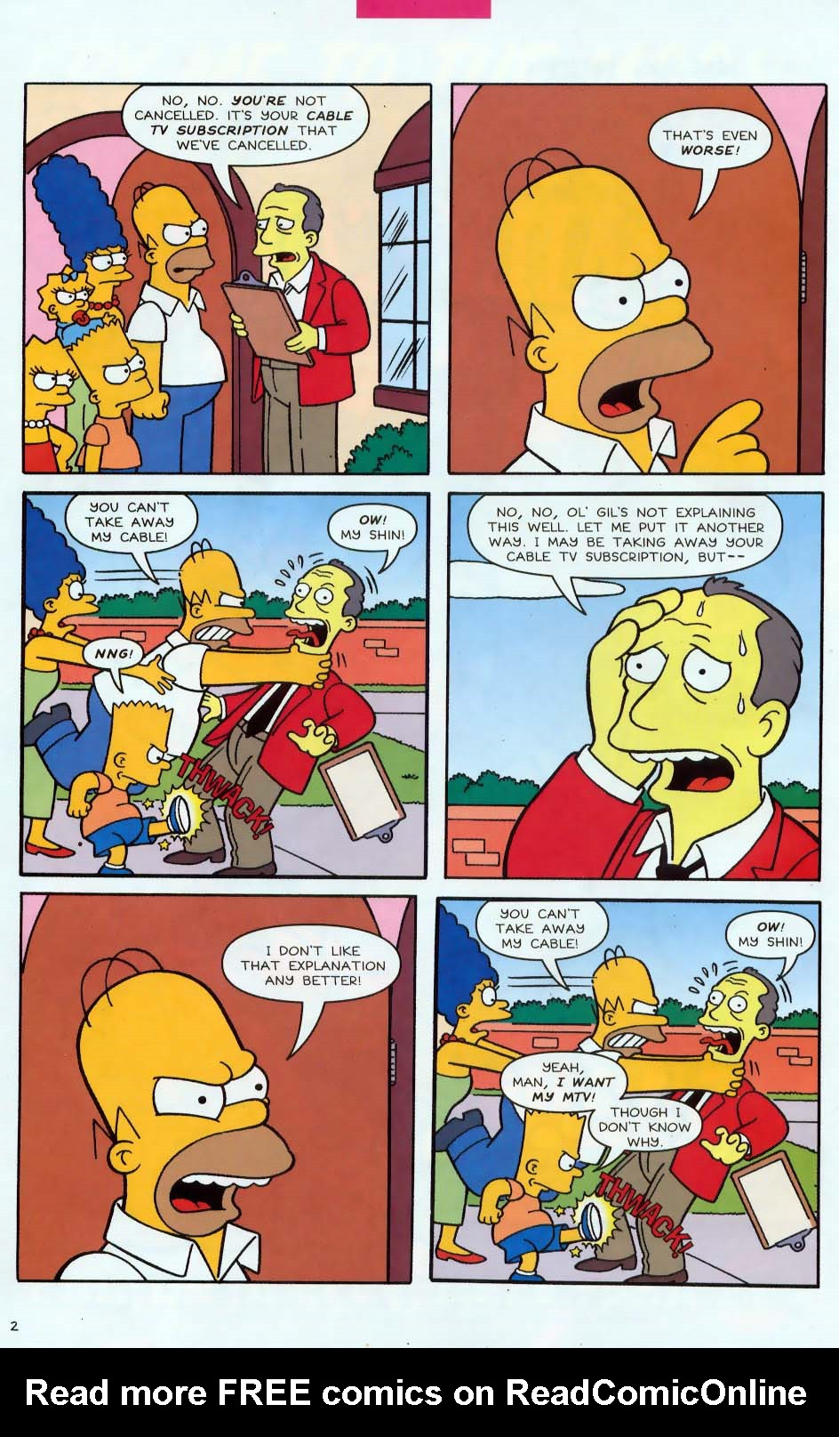 Read online Simpsons Comics comic -  Issue #85 - 3