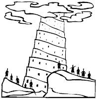Ministerio Agua Viva Kids Torre De Babel Desenhos E Atividades