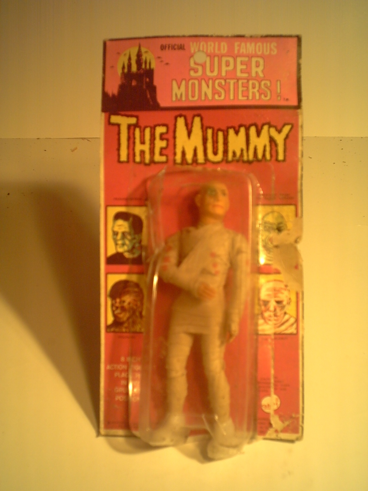 CLASSIC HORROR & MONSTER MOVIE COLLECTIBLES: # 1 POSEABLE ...