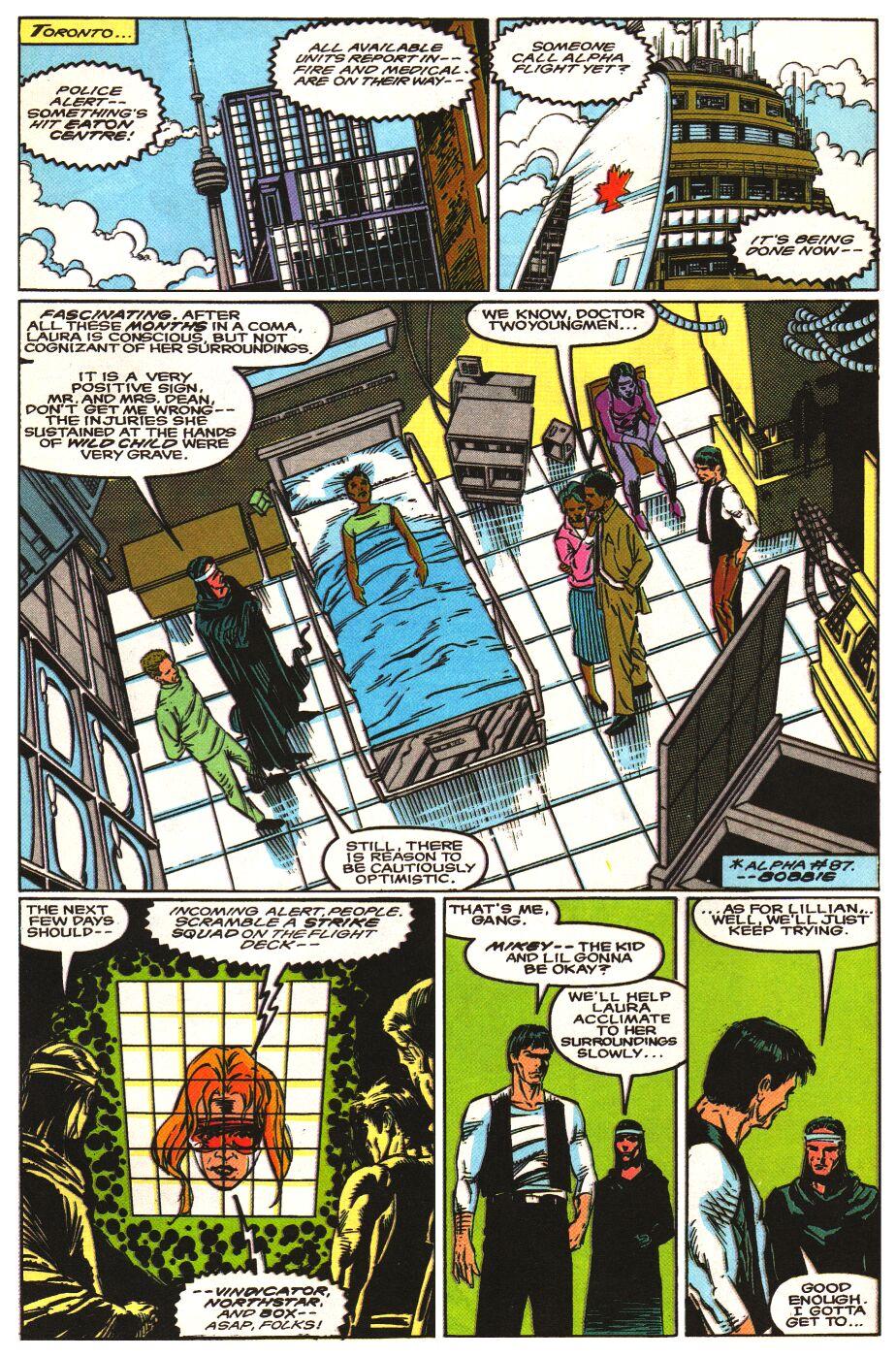 Read online Alpha Flight Special comic -  Issue #1 - 14