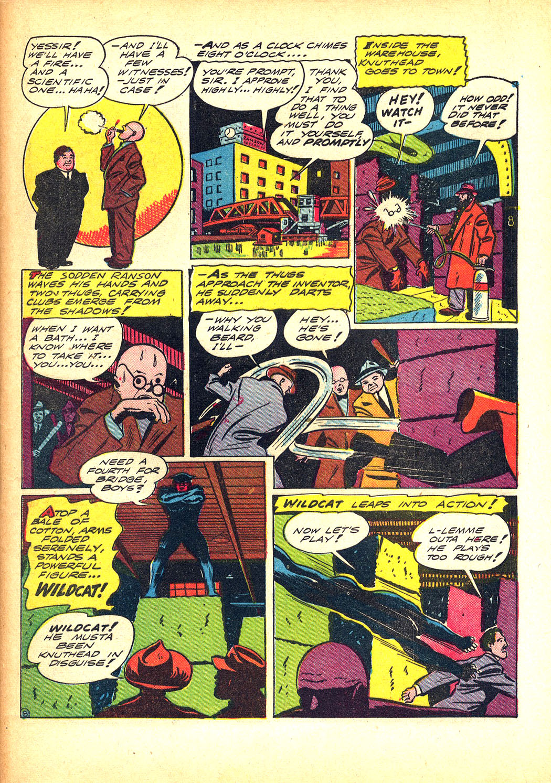 Read online Sensation (Mystery) Comics comic -  Issue #8 - 63
