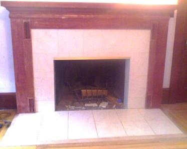 Refacing 1950s Brick Fireplace