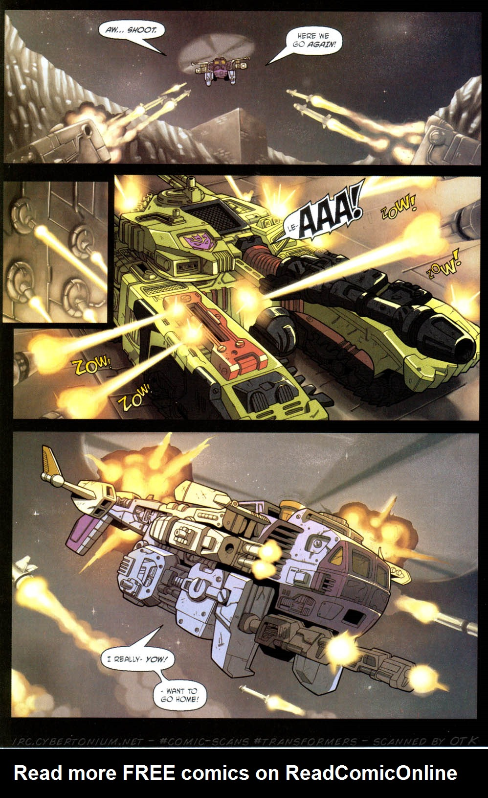 Read online Transformers Armada comic -  Issue #11 - 12