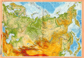Online Terkepek Szovjetunio Domborzati Terkep