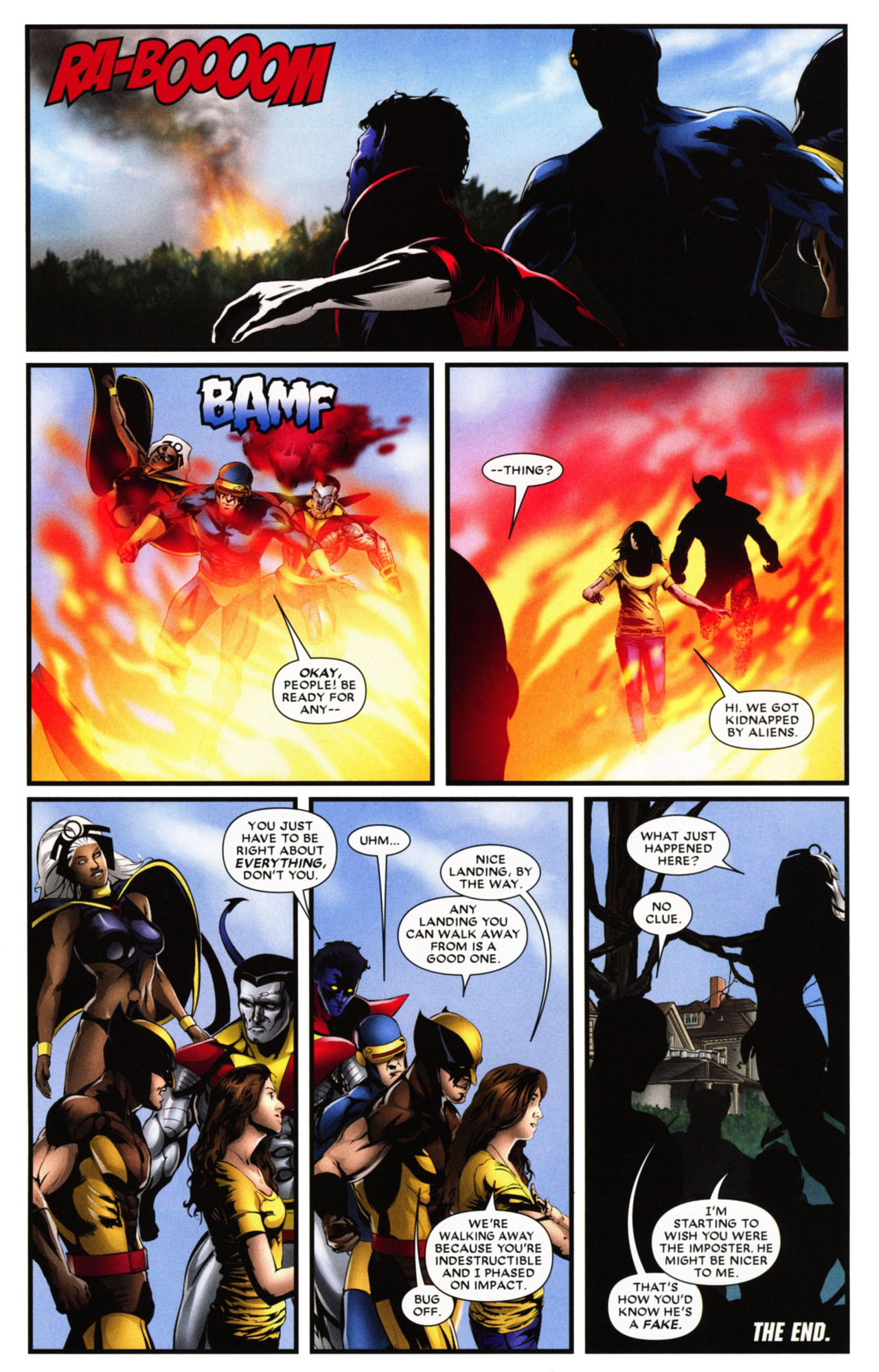 Read online Wolverine: First Class comic -  Issue #20 - 24