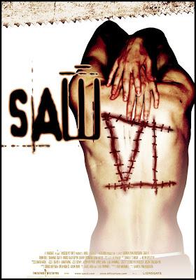 Cartel promocional de la sexta pelicula de SAW