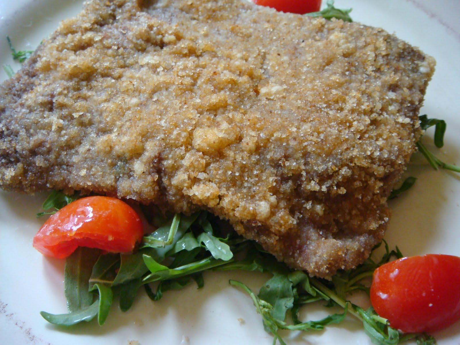 Carne impanata al forno ricetta