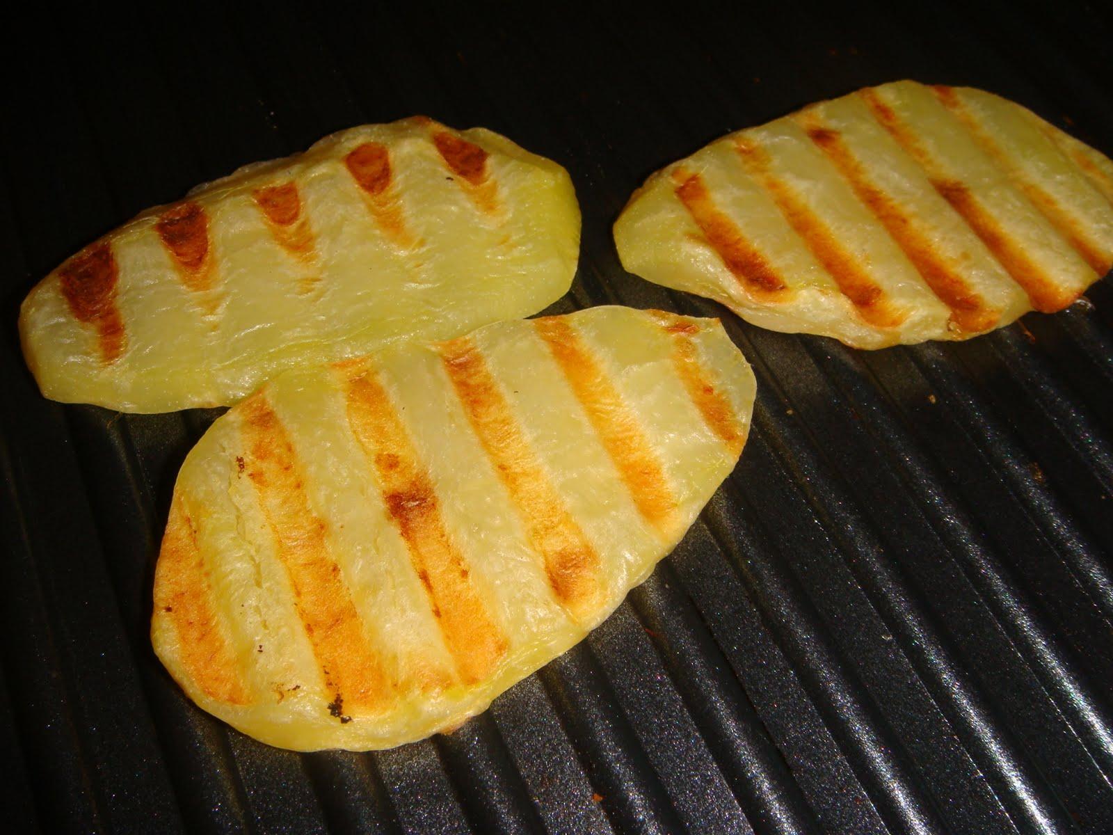 Dolcemente salato patate grigliate for Patate dolci americane