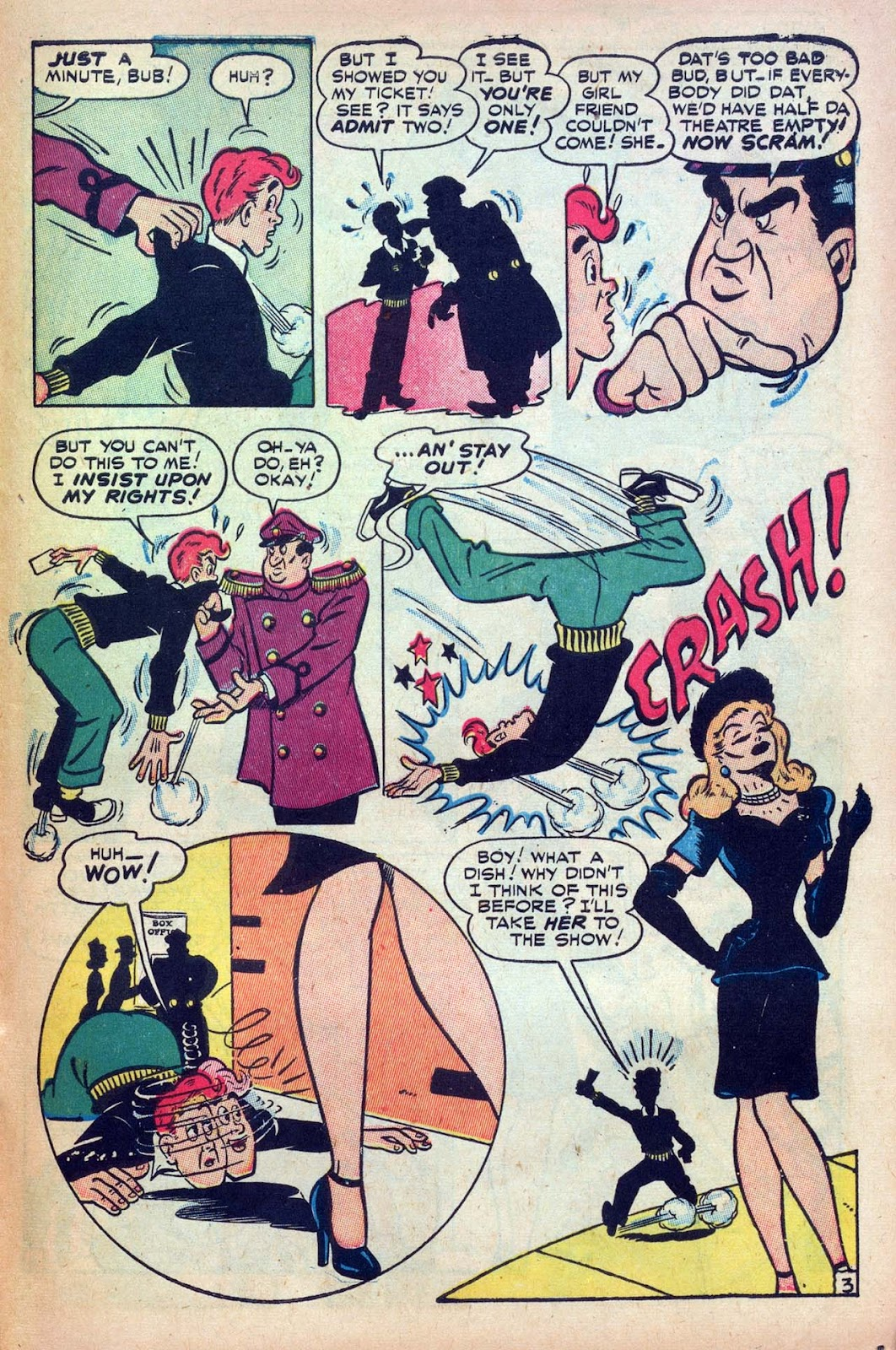 Read online Millie the Model comic -  Issue #9 - 41