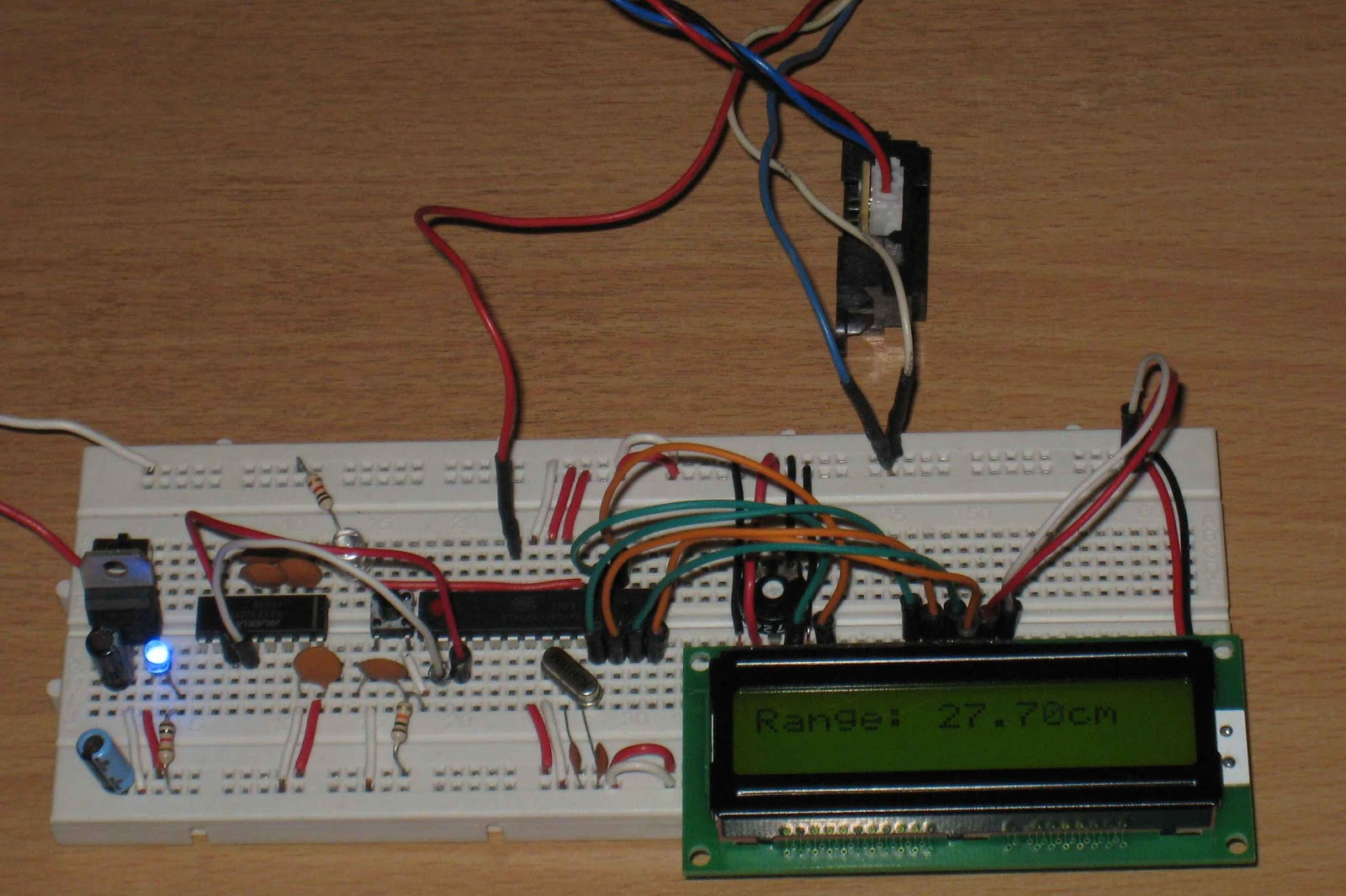 Arduino For Beginners Make Or Buy Breadboard Clone On With Sharp Ir Sensors And Lcd Module