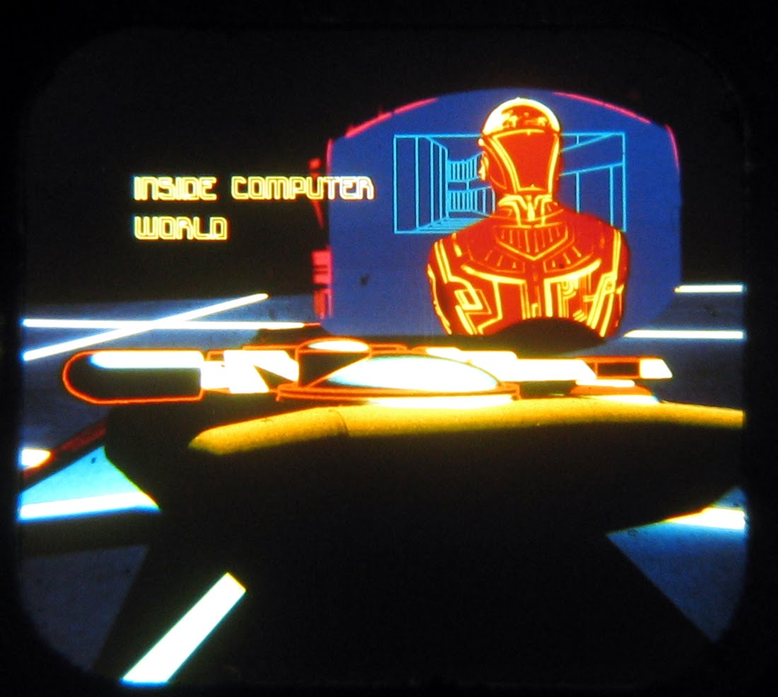 Neato Coolville: TRON VIEW-MASTER