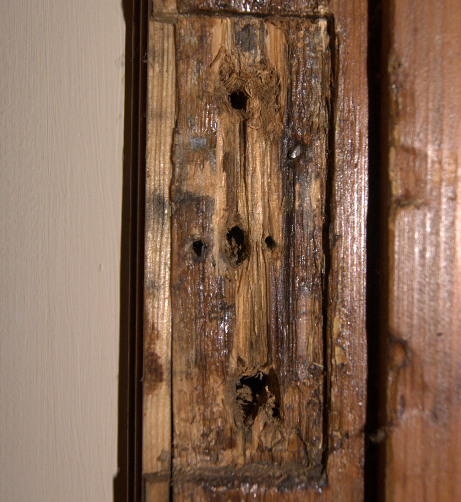Seven Across Repairing An Old Door Frame Or Jamb