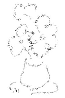A Calligram With Touch