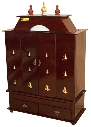 Pooja Cabinets Pooja Mandapam Sakhi