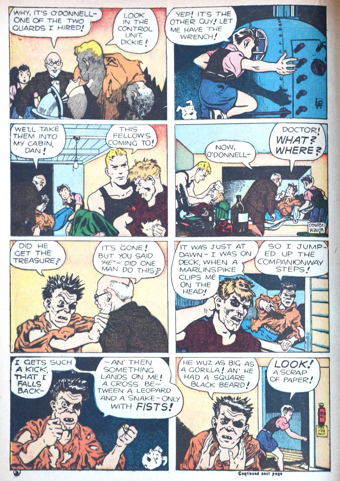 Read online Famous Funnies comic -  Issue #85 - 28